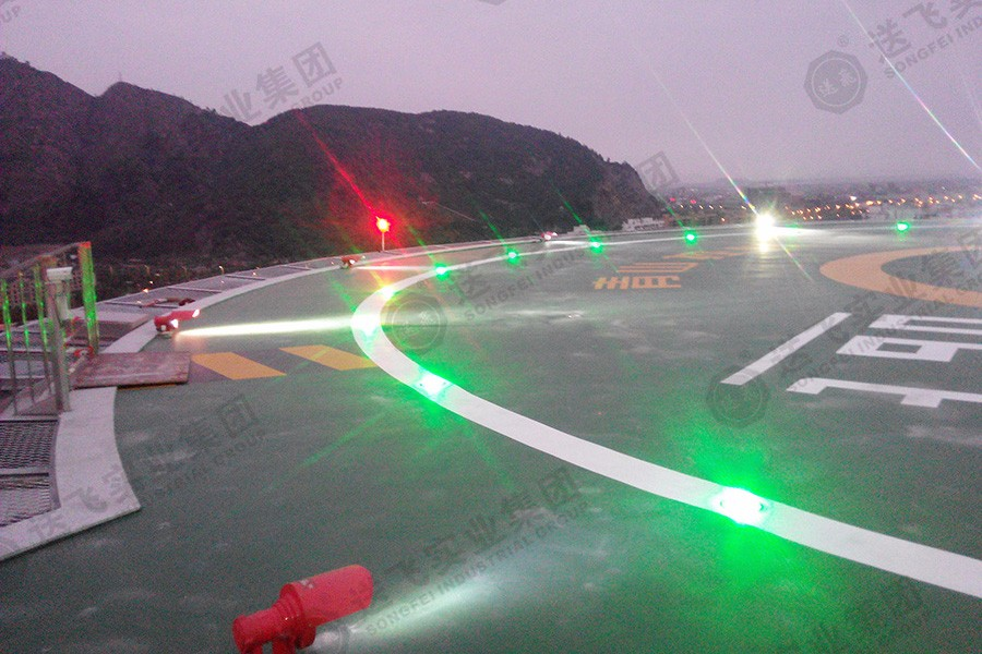 浙江温州·青山控股集团总部大楼 屋顶直升机停机坪